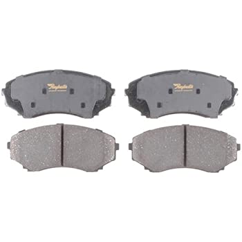 Disc Brake Pad Set-Advanced Technology Ceramic Disc Brake Pad Front Raybestos