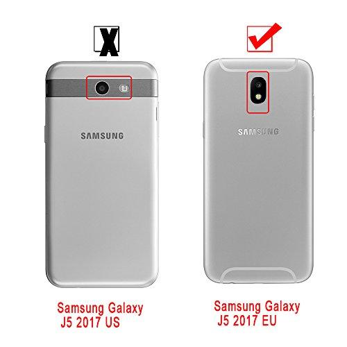 Funda Samsung Galaxy J5 2017 / J530,ToDo Transparente Silicona TPU Bling Glitter Líquido Funda Carcasas para Samsung Galaxy J5 2017 / J530 Arena Movediza Sparkle Brillar Claro Tapa Caso Suave Gel Shoc Púrpura