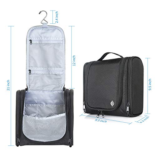 16 Large Toiletry Travel Bag for Men and Women Heavy Duty Waterproof Sturdy Hook Shower bag ONLY SIXTEEN