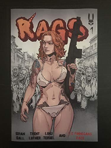 Rags #1 2018 Antarctic Press Variant Comic Book NM+ -