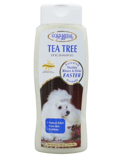 Gold Medal Pets Tea Tree Shampoo with Cardoplex for Dogs, 17 (Cardinal Laboratories Gold Medal)