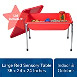 Children's Factory Large Sensory Table and Lid