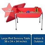 "Children's Factory 24"" Large Sensory Table & Lid"