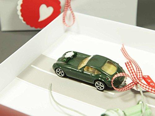 Amazonde Geldgeschenk Verpackung Für Hochzeit Auto Bahn Rot