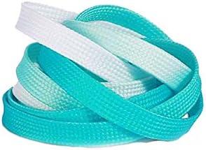 ファッショングラデーションライトブルー運動靴紐交換靴紐
