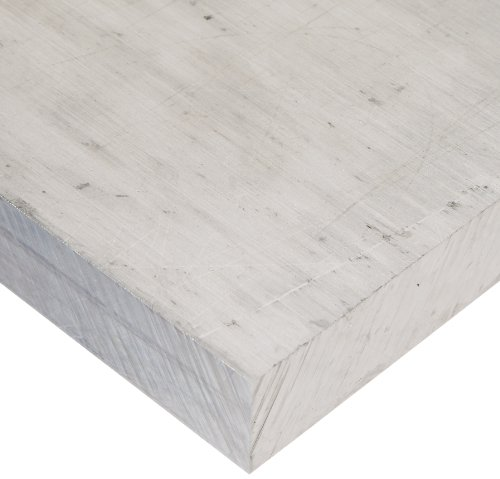 6061 Aluminum Sheet, Unpolished (Mill) Finish, T6 Temper, Meets ASTM B209, 0.190