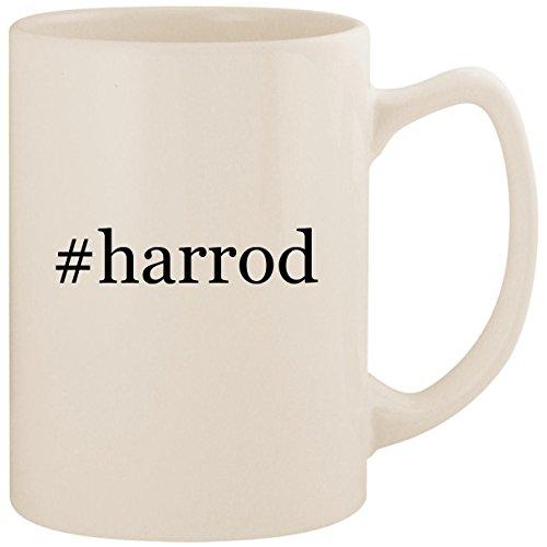 #harrod - White Hashtag 14oz Ceramic Statesman Coffee Mug Cup