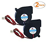 SoundOriginal 2pcs Cooling Blower Fan DC 12V 0.06A~0.15A 50mmx15mm Fans for 3D Printer Humidifier Aromatherapy and Other Small Appliances Series Repair Replacement