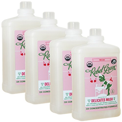 Rebel Green Certified Organic Liquid Delicates Wash - Natura