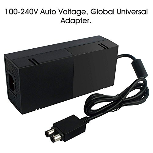 Xbox One Power Supply Brick,AC Adapter Power Supply Charger Cord Replacement for Xbox One 100-240V [Advanced QUIET VERSION] by Yteam (Image #2)