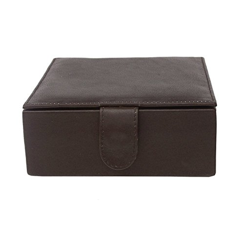 Piel Leather Small Gift Box Chc, Chocolate