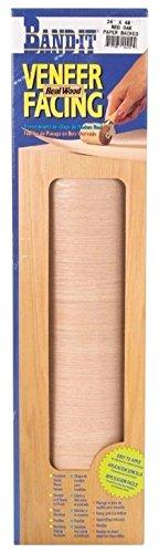 Band-It 24410 Paper Back Real Wood Veneer Facing, 24