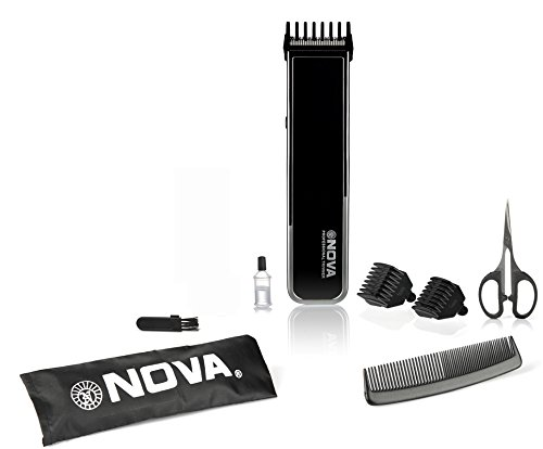 Nova NHT 1055 Pro Skin Advanced Friendly Precision Trimmer  Black