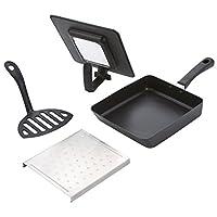 【 cookpad × 味の素 コラボ】冷食活用! 四角い マルチ フライパン セット RC5002