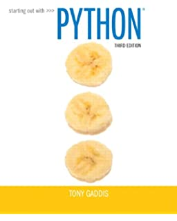Starting out with python 2nd edition gaddis series starting out with python 3rd edition fandeluxe Images