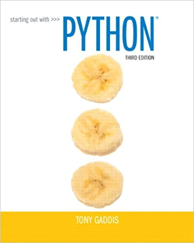 Starting out with python 3rd edition 8601421974844 computer starting out with python 3rd edition 8601421974844 computer science books amazon fandeluxe Image collections
