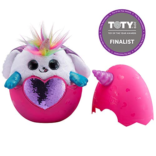 Rainbocorns Bunny Plush Toy, White -