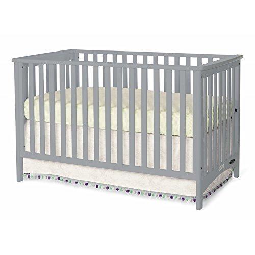 Childcraft London Euro Crib - Grey by Childcraft