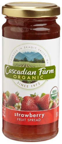 (Cascadian Farm Strawberry Spread, 10-Ounce Glass Jars  (Pack of 6))