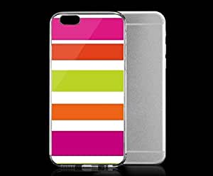 Light weight with strong PC plastic case for iphone 4 4s Artists Robin Zingone Pink Stripe. Robin Zingone??