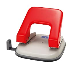 Open Industrial 2 hole punch red PU-15N-RD (japan import)