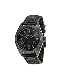 Hamilton Khaki Field Quartz H68401735 Black / Black Rubber Analog Quartz Men's Watch