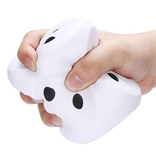 Wensy Clearance 10cm Squishies Giant Jumbo Dice Slow Rising Cream Scented Stress Relief Toys (A)]()