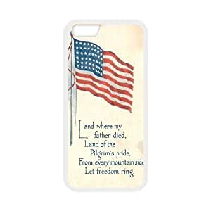 "American Flag Customized Cover Case for Iphone6 Plus 5.5"",custom phone case ygtg-774677"