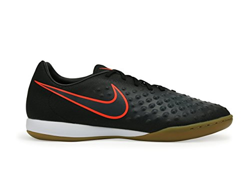 Nike Mens Magistax Onda Ii Scarpe Da Calcio Nere / Totali Cremisi Per Interni