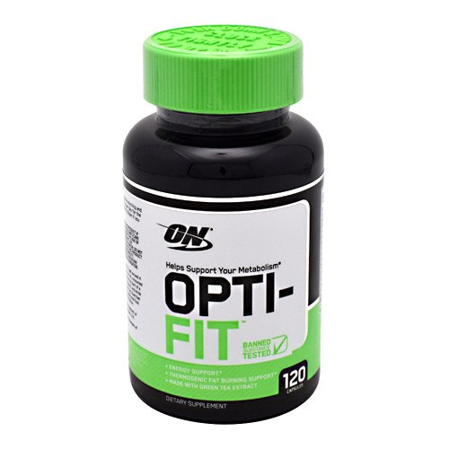 Optimum Nutrition Opti-fit Thermogenic Fat Burner for Men and Women, 200mg of Caffeine, Metabolism and Weight Loss Support Pills, 120 Count ()