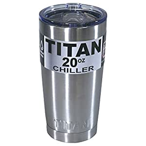 Titan 20oz Stainless Steel Tumbler Cup Double Wall Insulated w/ Slider Lid