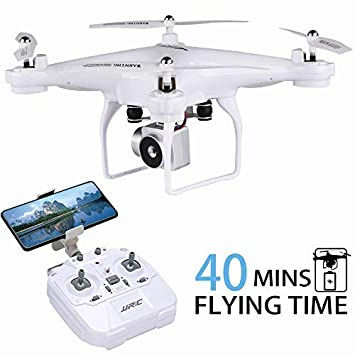 Amazoncom 40mins Flight Time Drone Jjrc H68 Rc Drone With 720p Hd