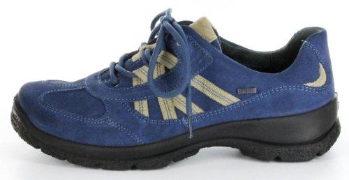 5 Outdoor 03541 7 denium blau Leder 4 Damen Größe Schuhe blau TEX Legero Farbe GORE Sportschuhe 84 WAqS0vSwa