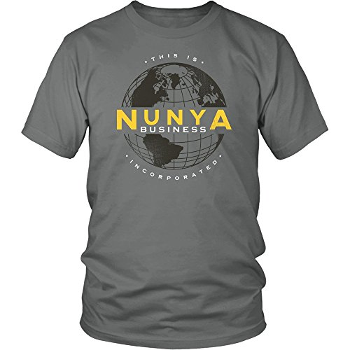 Nunya Business Inc Shirt Funny None Of Your Business Tee by Funny Witty Teez (Image #1)