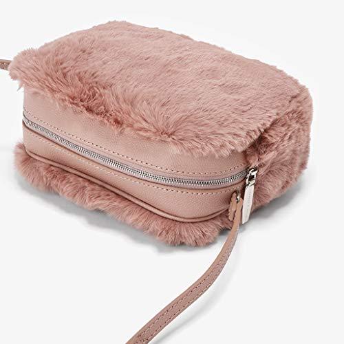 Multifunzionale 6cm 2018 Diagonale Multifunzione Size Cross Regalo Donna Pochette Portafogli Nuova 13 Pink color Pink Borsa 18 wz5qpZIAx