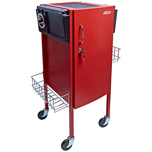 Modern Elements JLS-500 Metal Trolley Red