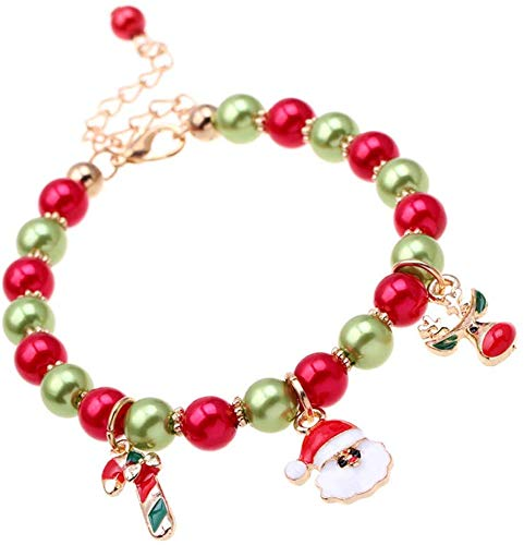 Koogel Weihnachtsanhänger, 50 Stück Charms Anhänger Weihnachten Halskette Armband Ohrringe Anhänger DIY Weihnachtsschmuck