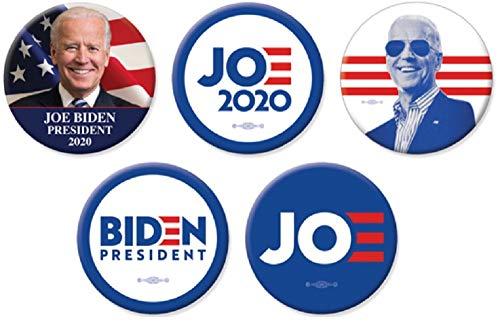 (Joe Biden For President Big Bold Campaign Button Set)