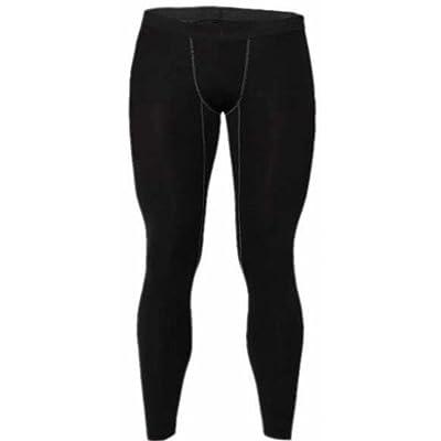 e9483384aa5aa Papijam Mens Sports Apparel Skin Tights Base Under Layer Running Cycling  Compression Long Pants