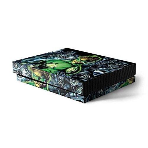 Skinit Green Lantern Xbox One X Console Skin - Green Lantern and Villains | DC Comics Skin (Green Lantern Video Game Xbox)
