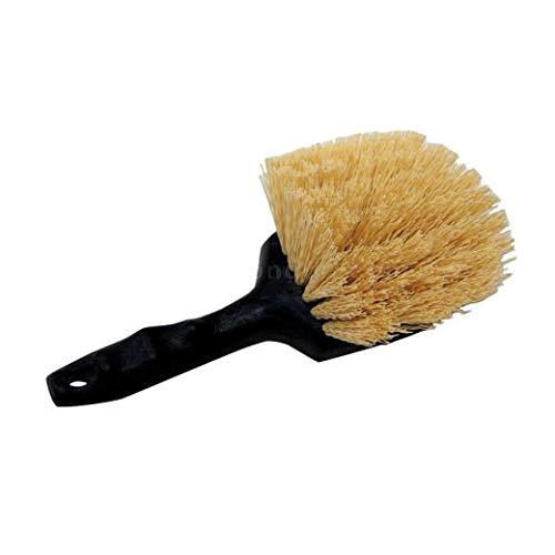 Utility Brush, Short Handle, 5 inch (21 Units) by Malish Brush (Image #1)