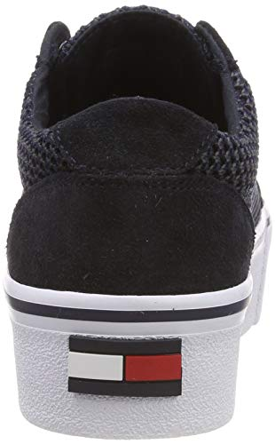 Textile Wmn Basses Bleu midnight Sneaker City Sneakers Femme 403 Jeans Tommy EHqw77