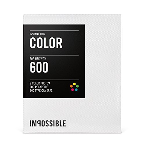 Impossible Project Color Fim For Polaroid 600-Type Cameras (10-Pack)