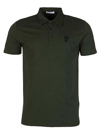 Versace Collection - Polo - para hombre verde Ejército Medium ...