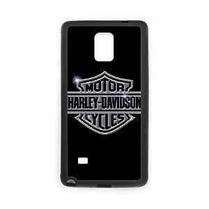 Samsung Galaxy Note 4 Cell Phone Case Black Harley Davidson MS4618398