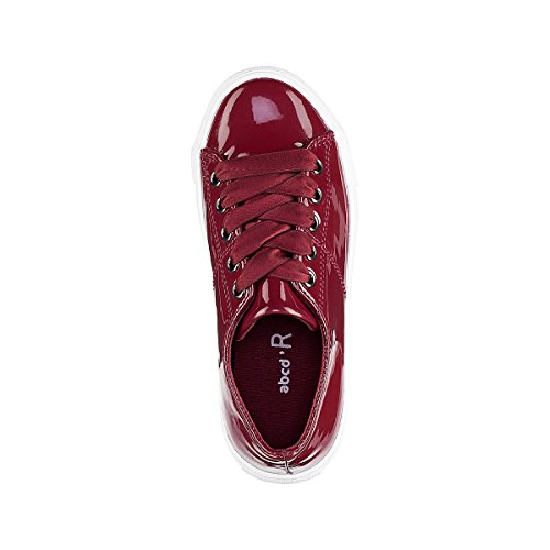 La Redoute Collections Mdchen Lacksneakers Gr. 2639 Gre 31 Rot