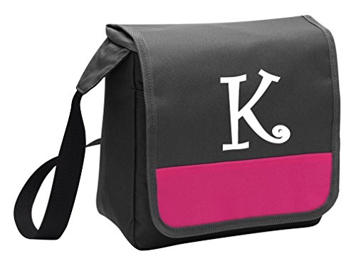 Cute Personalized Lunch Bag Custom Printed Monogrammed Lunchbox Cooler