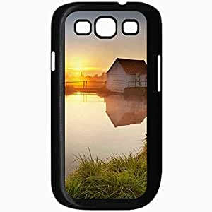 Unique Design Fashion Protective Back Cover For Samsung Galaxy S3 Case Coutry Side Scenery Black