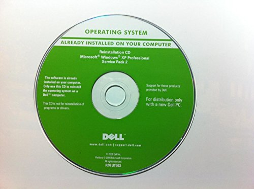 Dell Operating System Windows XP Professional Service Pac...