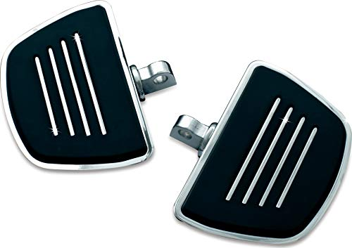 Kuryakyn 4392 Motorcycle Accessory: Premium Mini Board Floorboards with Male Mount Adapters, Chrome, 1 Pair ()